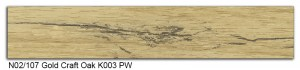 N02-107 Gold Craft Oak K003 PW SLIDE SMALL