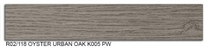R02-118 Oyster Urban Oak K005 PW SLIDE SMALL
