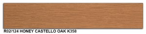 R02-124 Honey Castello Oak K358 SLIDE SMALL
