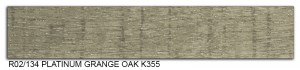 R02-134 Platinum Garange Oak K355 SLIDE SMALL